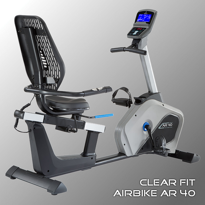 Арт. - Велотренажер горизонтальный — Clear Fit AirBike AR 40, 55990 рублей<a class='btn btn-primary btn-xs' style='margin-left:7px;' href='http://numberfive.ru/c_main/product_view/id_product/1759 '> Cмотреть </a>