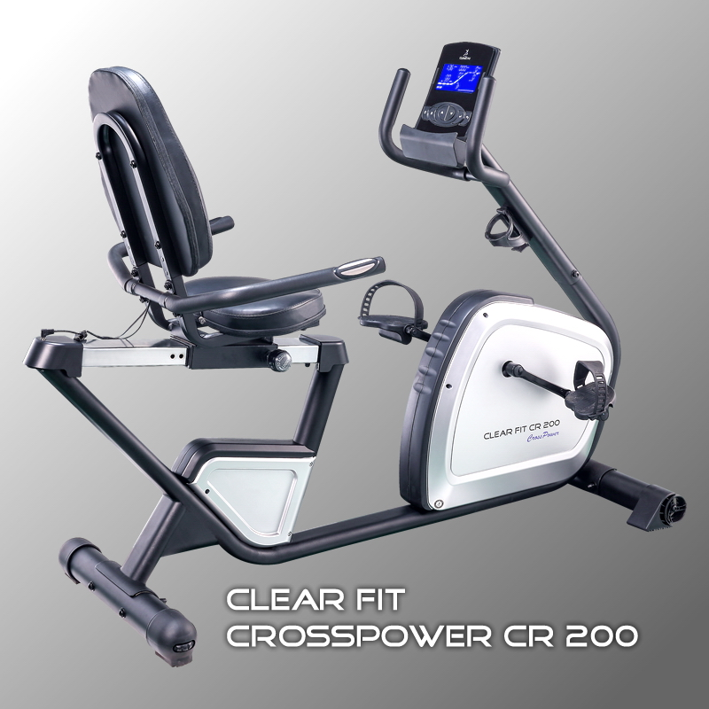 Арт. - Горизонтальный велотренажер Clear Fit CrossPower CR 200, 34990 рублей<a class='btn btn-primary btn-xs' style='margin-left:7px;' href='http://numberfive.ru/c_main/product_view/id_product/1957 '> Cмотреть </a>